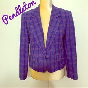 Pendelton Wool Blazer